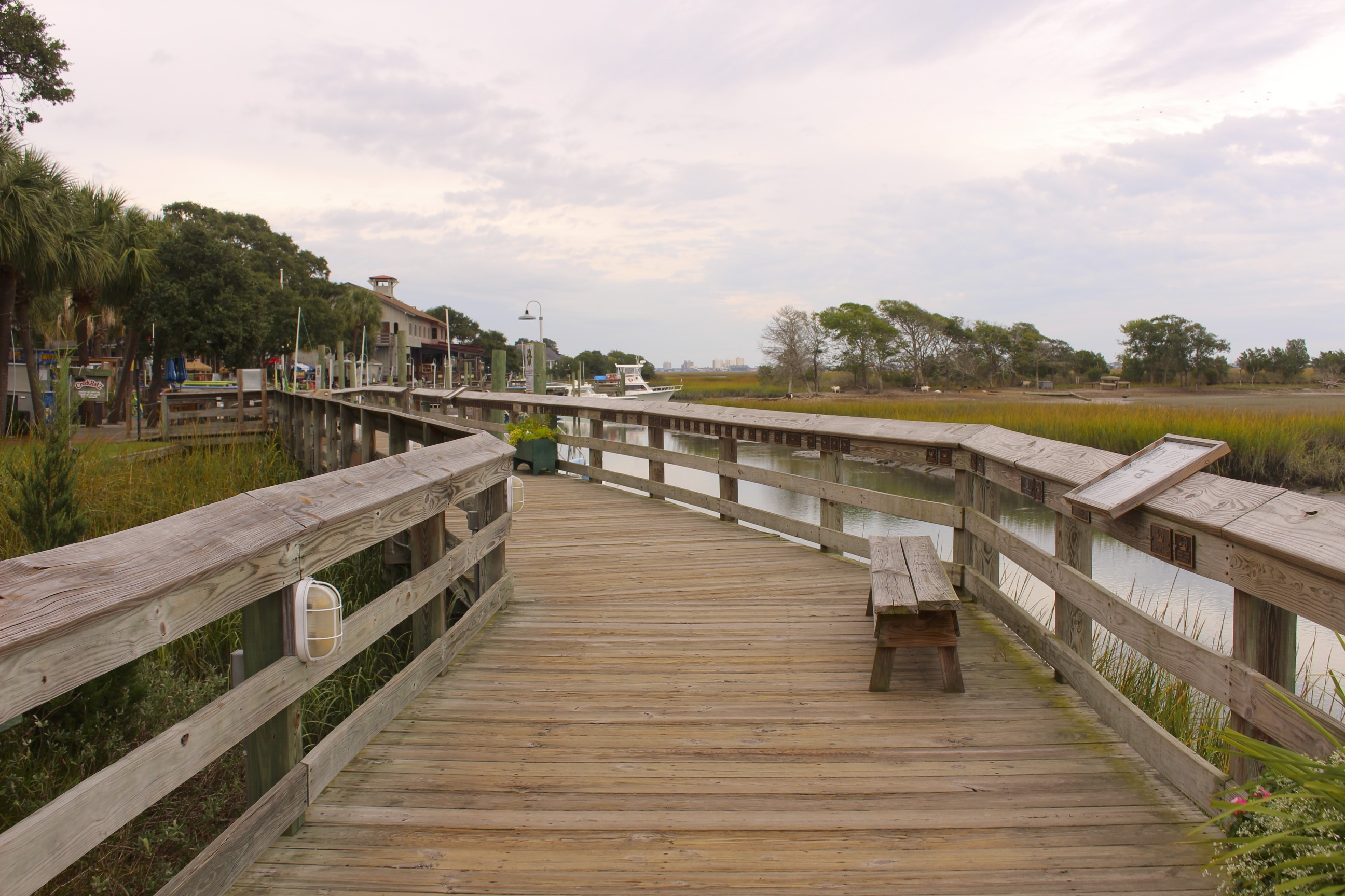 murrells inlet marshwalk is the place to go for waterfront dining