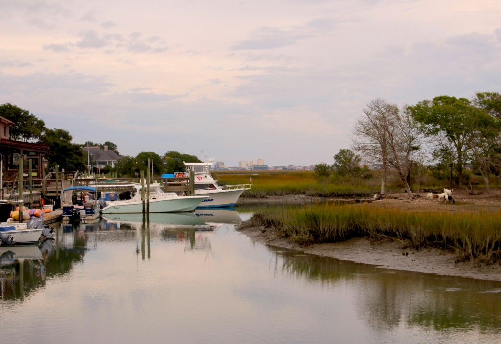 included this picture of murrells inlet marshwalk simply to point