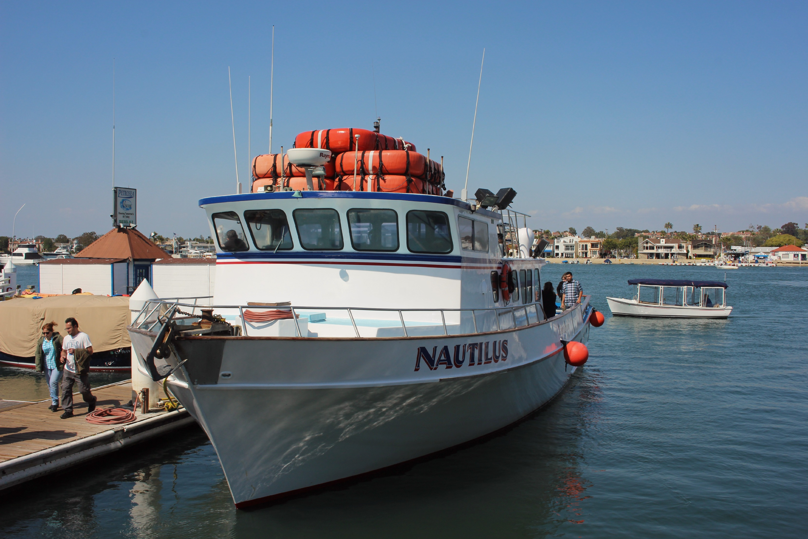 This Was Our Newport Landing Whale Watching Boat For The Afternoon It Could Comfortably Hold About 75 People
